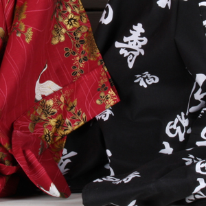 Japanse kimono's en yukata's